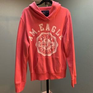 🍂American Eagle Soft Pullover Hoodie Size XL